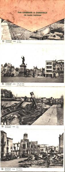 Bildband nach der Schlacht von Dünkirchen 1940 selten