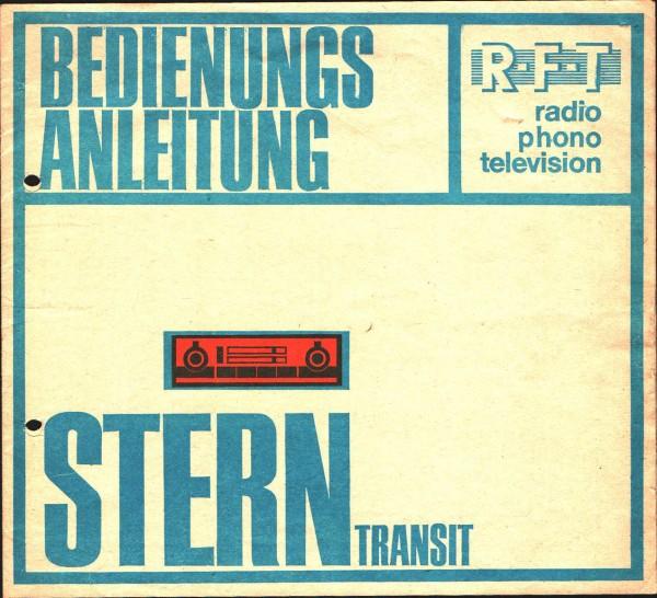 Bedienungsanleitung RFT Radio