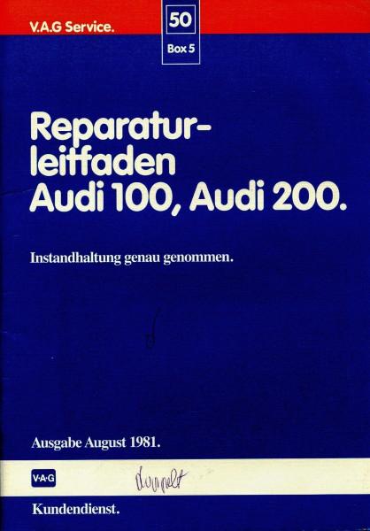 Reparaturleitfaden Aud 100, Audi 200 Instandhaltung genau genommen