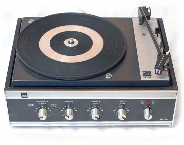 Dual Plattenspieler 420 - HS 26 Kult 1972?