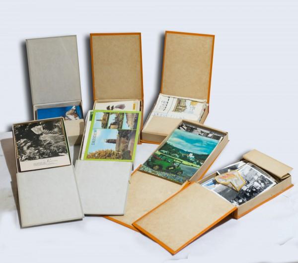 Konvolut an DDR Postkarten, Familienbildern und Briefen z. Sowjetischen Freunschaft