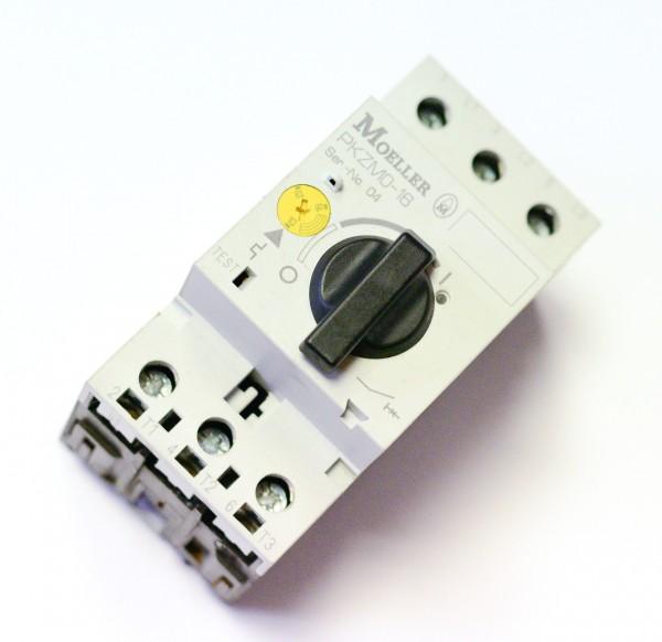 3 Stück gebr. Moeller Motorschutzschalter PKZM0-16 10-16A