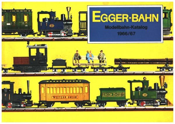 Egger-Bahn Katalog 1966 / 1967